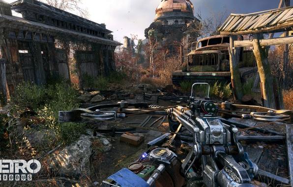 Картинка game, weapon, survivor, arrow, Metro Exodus