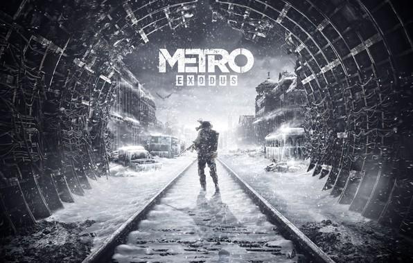 Картинка Метро, Арт, Metro, 4A Games, Deep Silver, Exodus, Metro: Exodus, Metro Exodus, Артём, Метро: Исход, ...
