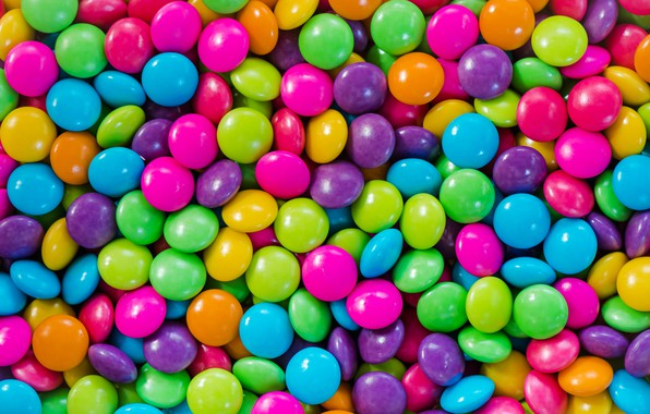 Картинка шарики, фон, colorful, конфеты, balls, background, sweet, драже, candy