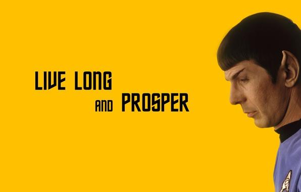 Картинка character, Star Trek, actor, minimalism, science fiction, man, sci-fi, TV series, Spock, Leonard Nimoy, Live …