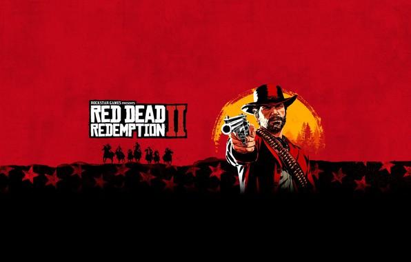 Картинка Rockstar Games, Red Dead Redemption 2, Red Dead, Redemption 2