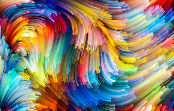 Картинка краски, colors, colorful, abstract, rainbow, background, splash, painting