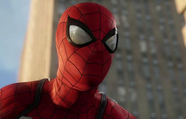 Картинка Игра, Герой, Маска, Супергерой, Hero, Marvel, Человек-паук, Game, Comics, Spider-Man, Peter Parker, Питер Паркер, Линзы, …