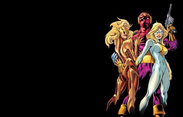 Картинка комикс, Marvel Comics, Thunderbolts, Moonstone, Барон Земо, Гельмут Зеро