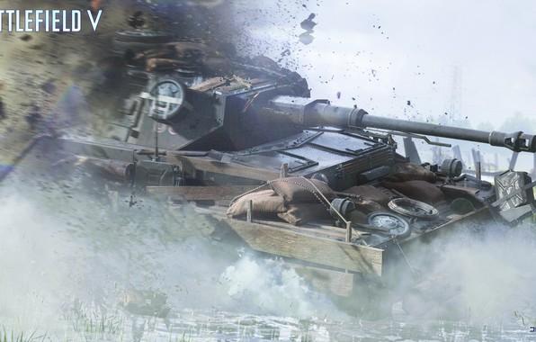 Картинка танк, Pz.IV, Battlefield V, Battlfield 5