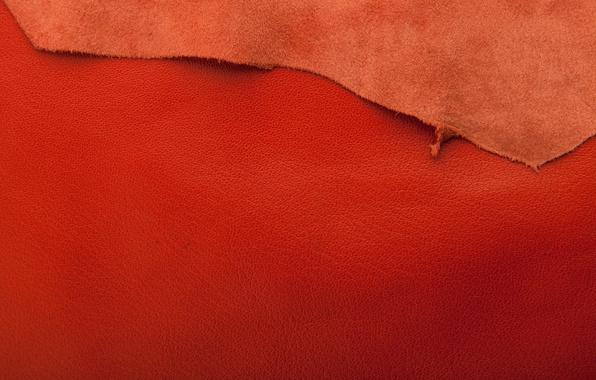 Картинка кожа, рыжий, texture, background, leather