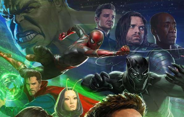 Картинка Герои, Костюм, Актер, Актриса, Кино, Маска, Heroes, Халк, Superheroes, Hulk, Фильм, Актеры, Фантастика, Marvel, Spider-man, …