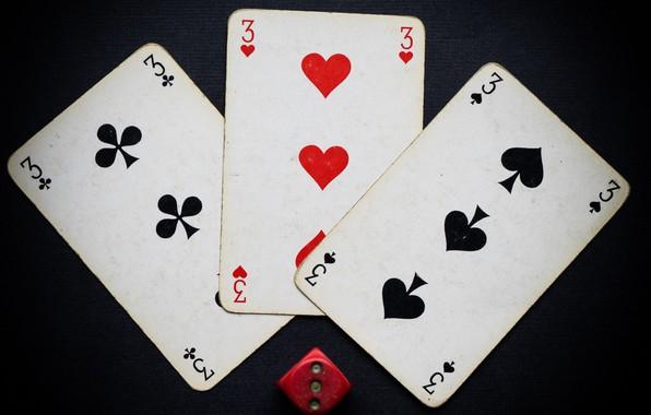 Картинка карты, игра, кость