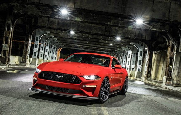 Картинка Ford, 2018, Mustang GT, Level 2 Performance Pack