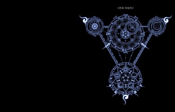 Картинка волшебство, магия, игра, символы, ArcheAge, Q - peng, archeage_마법진, кргуг
