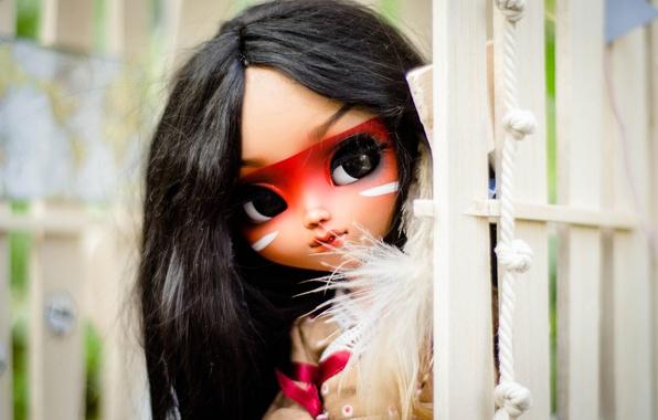 Картинка игрушка, кукла, индианка