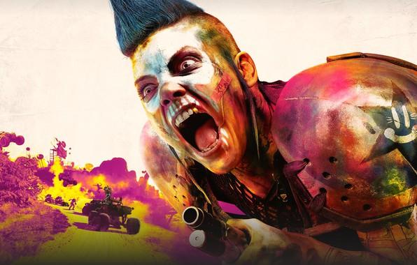 Картинка Bethesda Softworks, Rage, Avalanche Studios, id Software, Rage 2