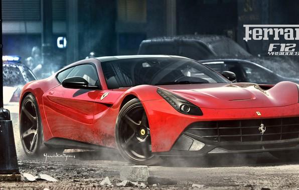 Картинка car, авто, тюнинг, Ferrari, автомобиль, auto, tuning, F355, Challenge, Yasid Design, Yasid Oozeear