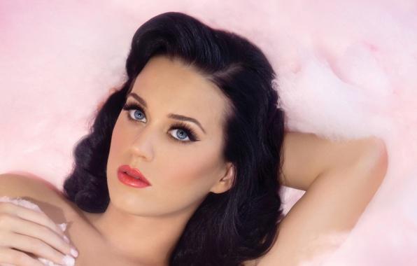 Картинка брюнетка, Katy Perry, певица