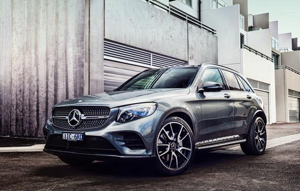 Картинка Mercedes, мерседес, кроссовер, X253, GLC-class
