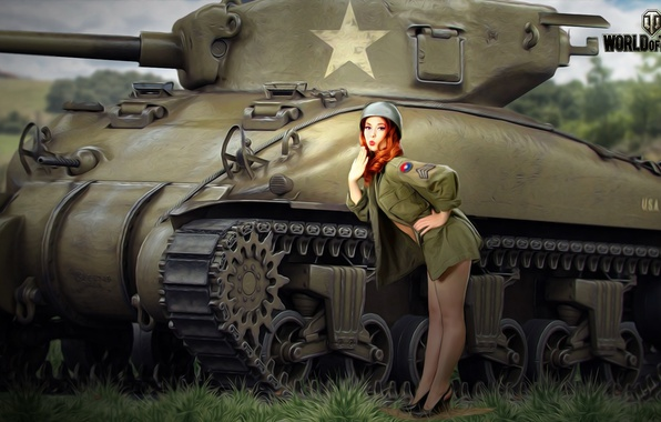 photo of girls танки № 31767