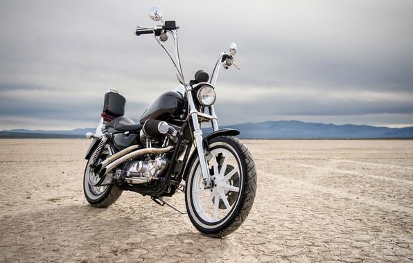 Картинка стиль, мотоцикл, байк