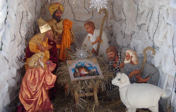 Картинка рождество, чудо, вертеп