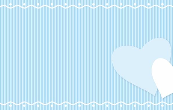 Картинка текстура, сердечки, голубой фон