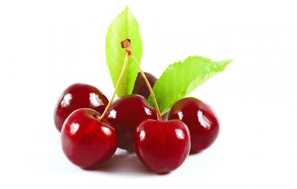 Картинка макро, вишня, ягода, черешня