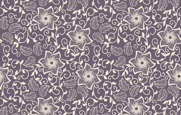 Фото обои текстура, орнамент, flower, texture, background, pattern, ornament, seamless