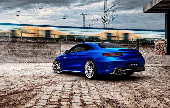 Картинка купе, Mercedes, мерседес, AMG, Coupe, S-Class, C217