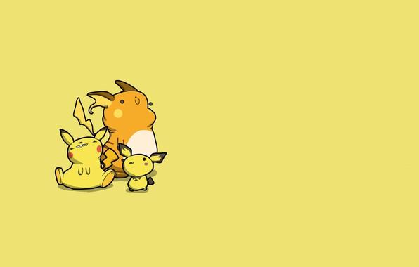 Картинка мышь, пикачу, карикатура, электрический, покемон, pokemon, pikachu, пичу, райчу, Raichu, Pichu