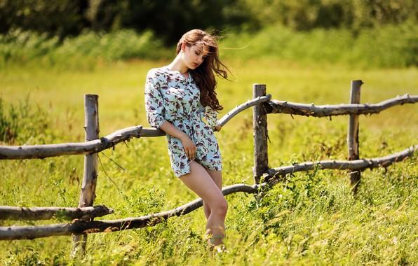 Картинка лето, девушка, платье, Kazakhstan, Murat Kuzhakhmetov, Summer story