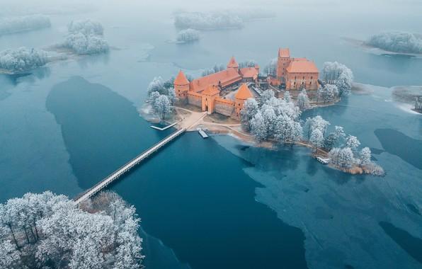 Картинка Trakai, Lithuania, Island Castle