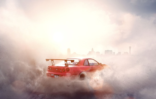 Картинка Need for Speed, Nissan Skyline, Electronic Arts, Ghost Games, Need for Speed: Payback