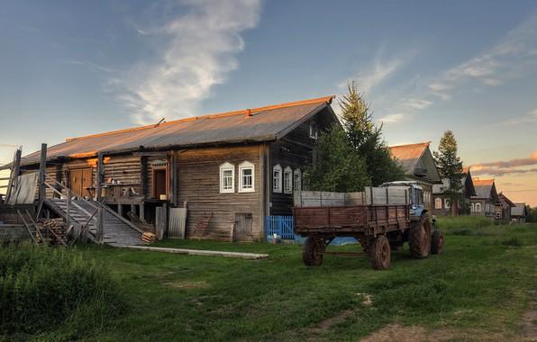 Картинка деревня, Архангельская область, Кильца