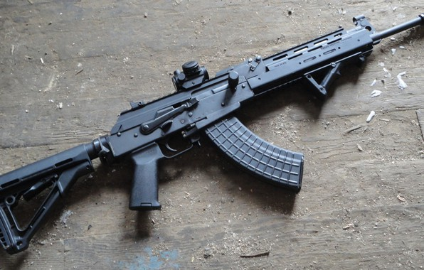 Картинка оружие, автомат, weapon, кастом, калашников, assault Rifle, акм, ak, akm
