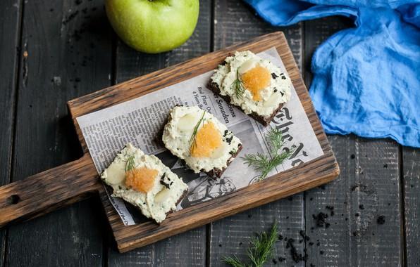 Картинка рыба, сыр, Бутерброды