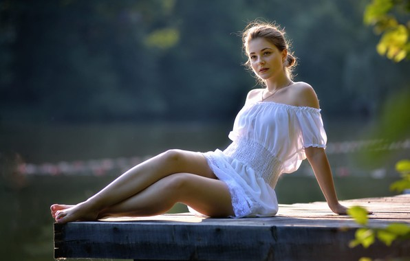 Картинка девушка, ножки, Украина, Dana, Дана, Ivan Borys