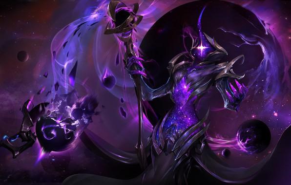 Картинка космос, сила, dark, space, fantasy, power, божество, energy, force, cosmic, сущность