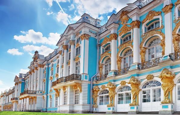 Картинка Санкт-Петербург, Россия, Екатерининский дворец