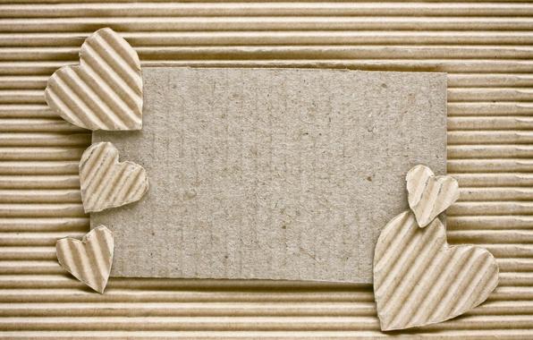 Картинка сердечки, love, картон, romantic, hearts