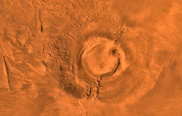 Картинка космос, планета, марс