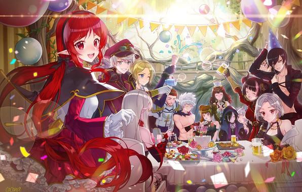 Картинка аниме, арт, персонажи, blann, dungeon fighter
