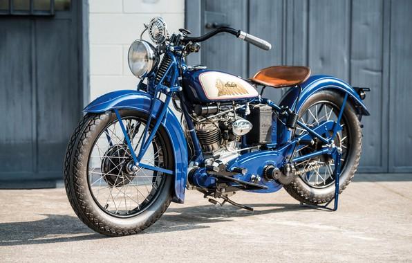 Картинка Классика, Мотоцикл, Indian