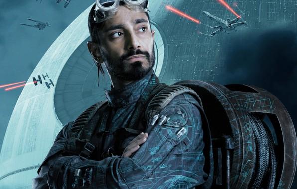 Картинка фантастика, очки, постер, трос, Riz Ahmed, Rogue One, Изгой-один: Звёздные войны. Истории, Риз Ахмед