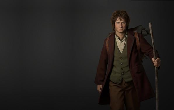 Картинка рендеринг, арт, fantasy, хоббит, персонаж, иллюстрация, Дж. Р. Р. Толкин, Bilbo Baggins, Yichen Gu, Би́льбо …