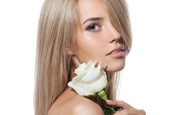 Картинка rose, sexy, look, blonde