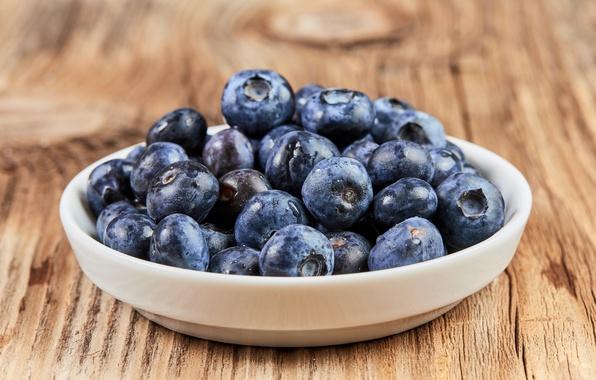 Картинка черника, fresh, голубика, wood, ягоды, berries, blueberry