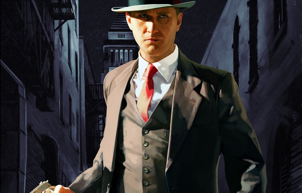 Картинка Game, L.A. Noire, Rockstar Games, Thevideogamegallery.com
