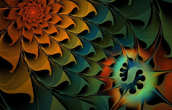 Картинка Цветок, Узор, Лепестки
