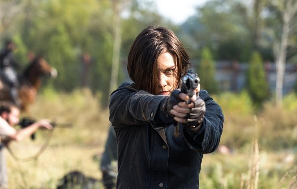 Картинка 7 сезон, The Walking Dead, ходячие, Lauren Cohan, 16 серия