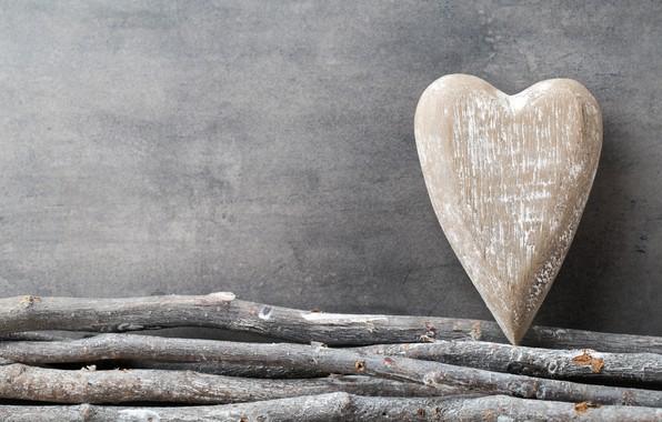 Картинка любовь, ветки, дерево, сердце, love, heart, wood, romantic