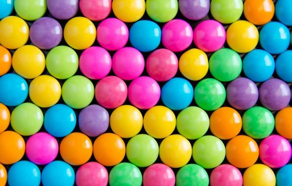 Фото обои фон, радуга, colorful, конфеты, сладости, background, sweet, candy