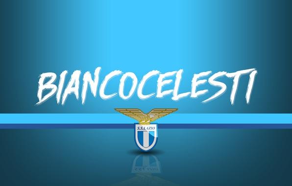 Картинка wallpaper, sport, logo, football, Lazio, Serie A, Biancocelesti